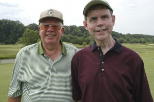 Blind golfer sees life through rose-colored glasses